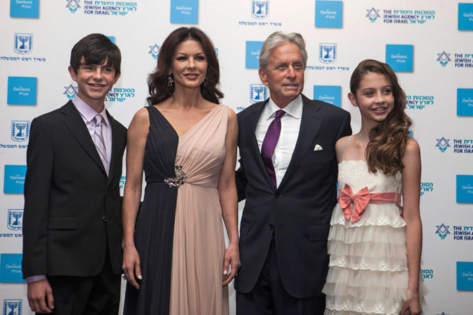The Second Annual Genesis Prize Award Ceremony Honoring Michael Douglas