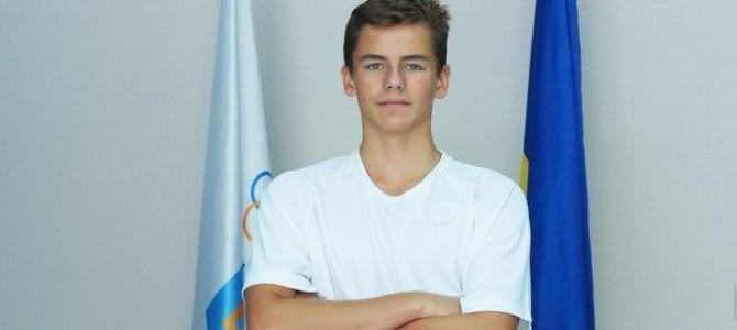 16-летний украинец  стал чемпионом Европейских игр