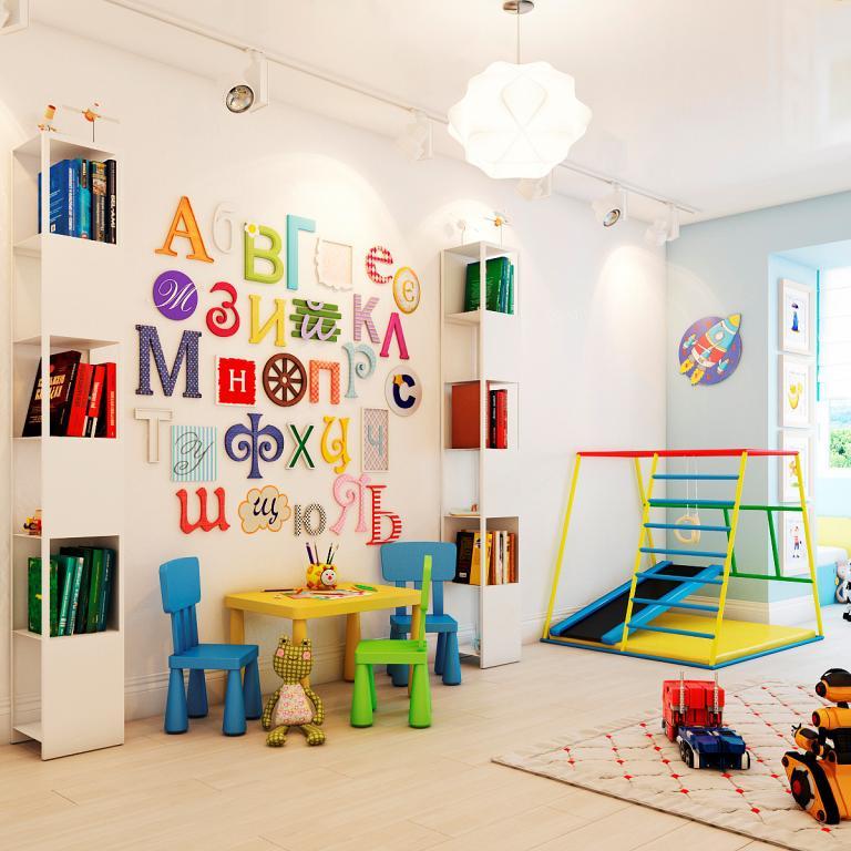 Каким должен быть дизайн детской комнаты