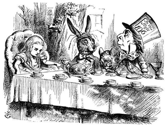 """Удивительные иллюстрации к первому изданию """"Алисы в стране чудес"""""""