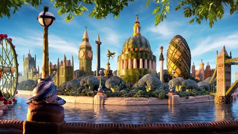 Новое название музея ВОВ, отель с роботами и поразительные пейзажи из еды