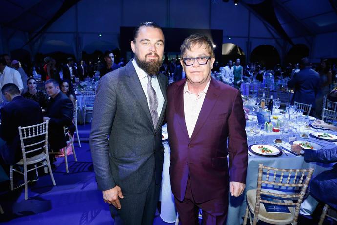 The Leonardo DiCaprio Foundation 2nd Annual Saint-Tropez Gala - Dinner & Auction