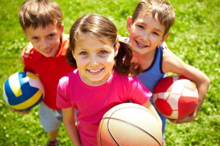 В Киеве откроется летний спортивный лагерь для детей из семей переселенцев