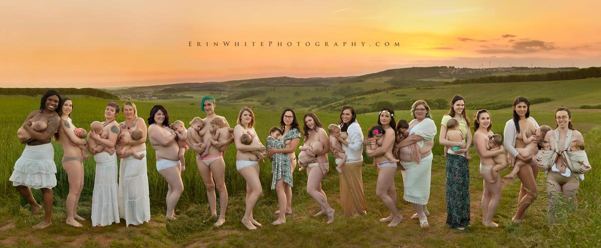 Фотопроект: Естественная красота материнства