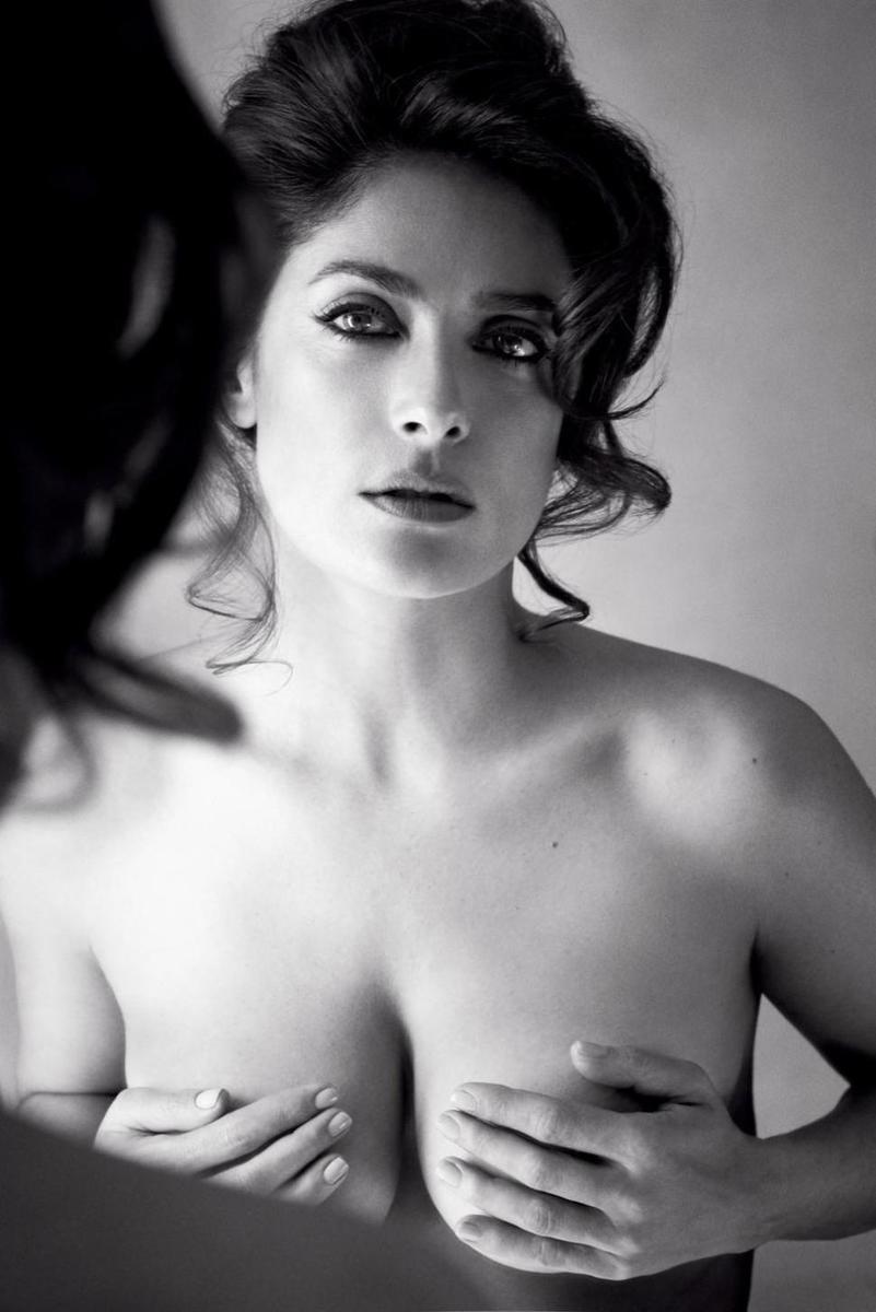 Сальма Хайек в откровенной фотосессии