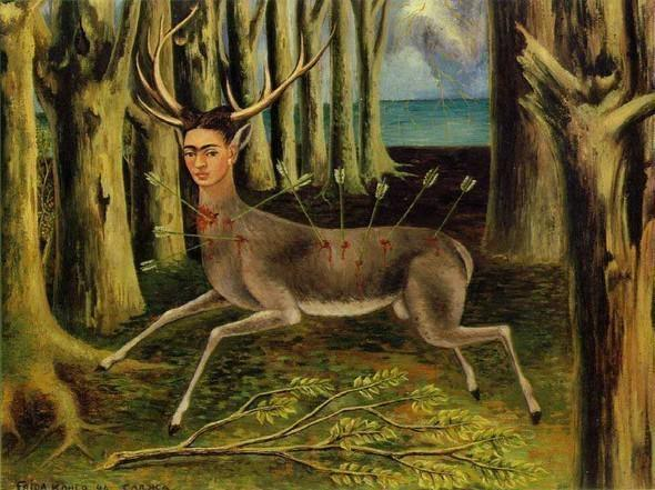 Раненый олень