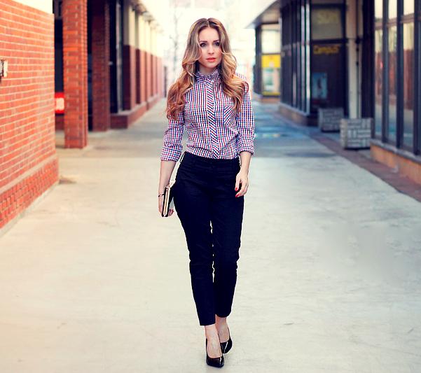 Как правильно носить одежду в стиле business casual