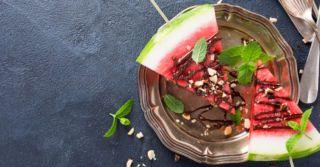 Три мгновенных рецепта с арбузом от Джейми Оливера