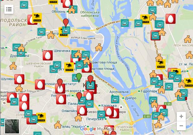 В столице запустили карту «Куди в Києві здати відходи»