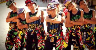 Студии современного танца для детей в Киеве