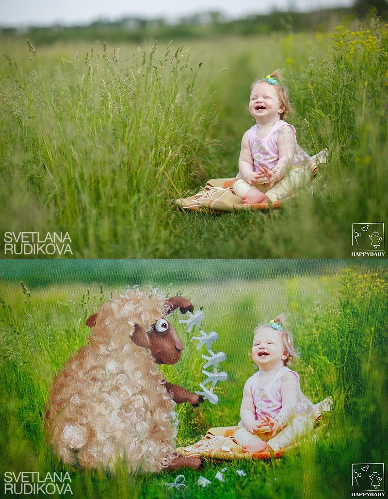 Мечтариум: Сказочные истории от фотографа Даши Павловой и художницы Светланы Рудиковой