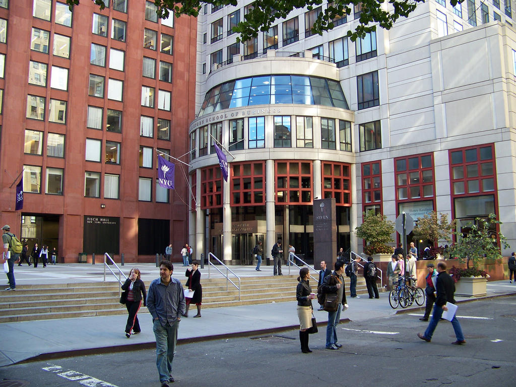 nyu stern essays Nyu stern's optional essay prompt is broader than most in that it does not demand that you discuss only problem areas in your candidacy, though the examples it offers within the prompt seem to imply a preference for these topics.