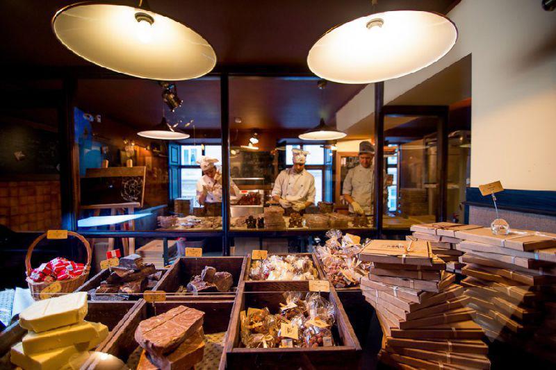 Кухня ресторана как место для оргии