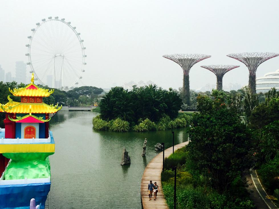 Gardens by the bay 1