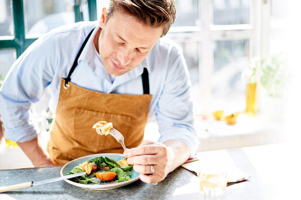 Суперфуды в рецептах Джейми Оливера на завтрак, обед и ужин
