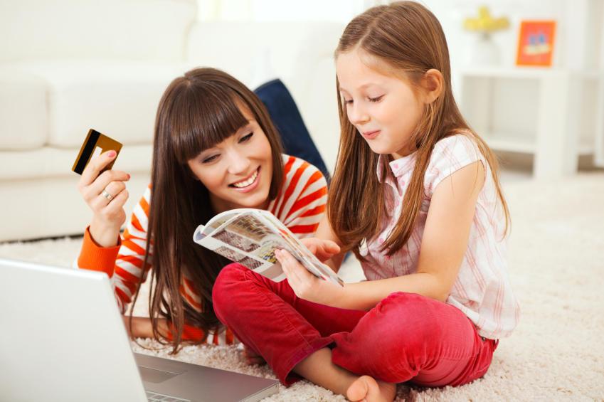 В несколько кликов: Детский шопинг онлайн в США