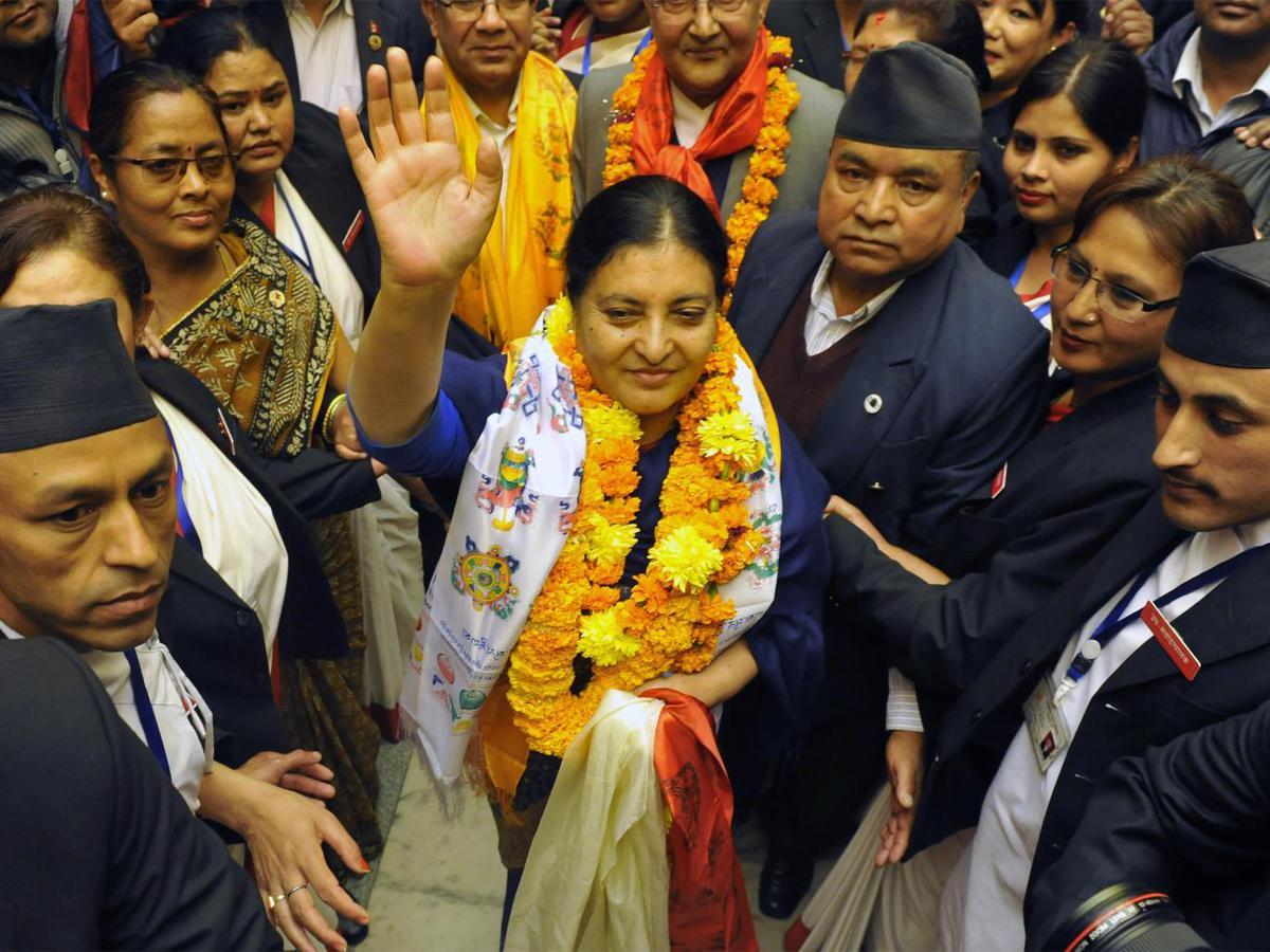 Бидхья Деви Бхандари - первая женщина-президент Непала
