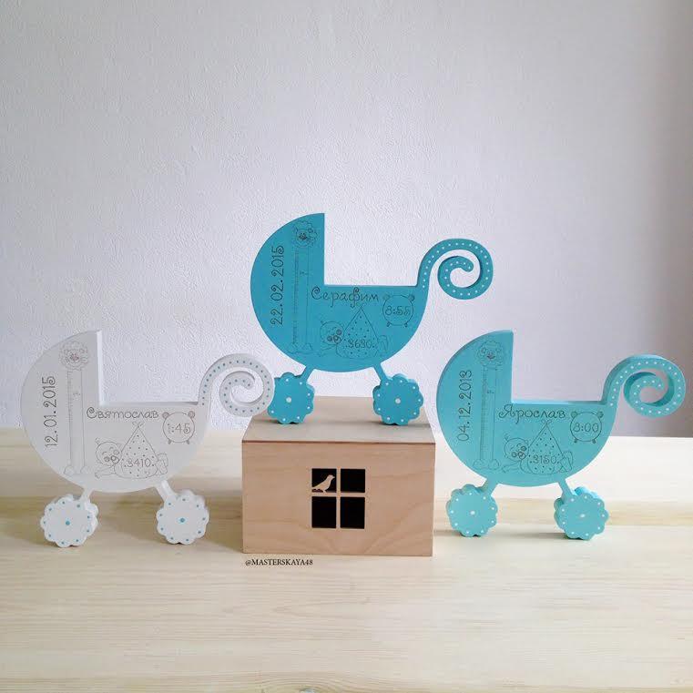 WoМo-находка: Памятные подарки на рождение ребенка от Masterskaya48