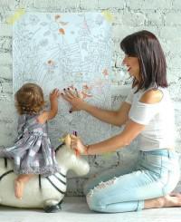 WoMo-находка: Раскраски-обои для детей
