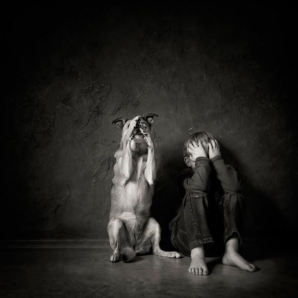 Фотопроект: Лучшие снимки детей с братьями меньшими