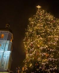 Программа открытия главной новогодней елки в Киеве