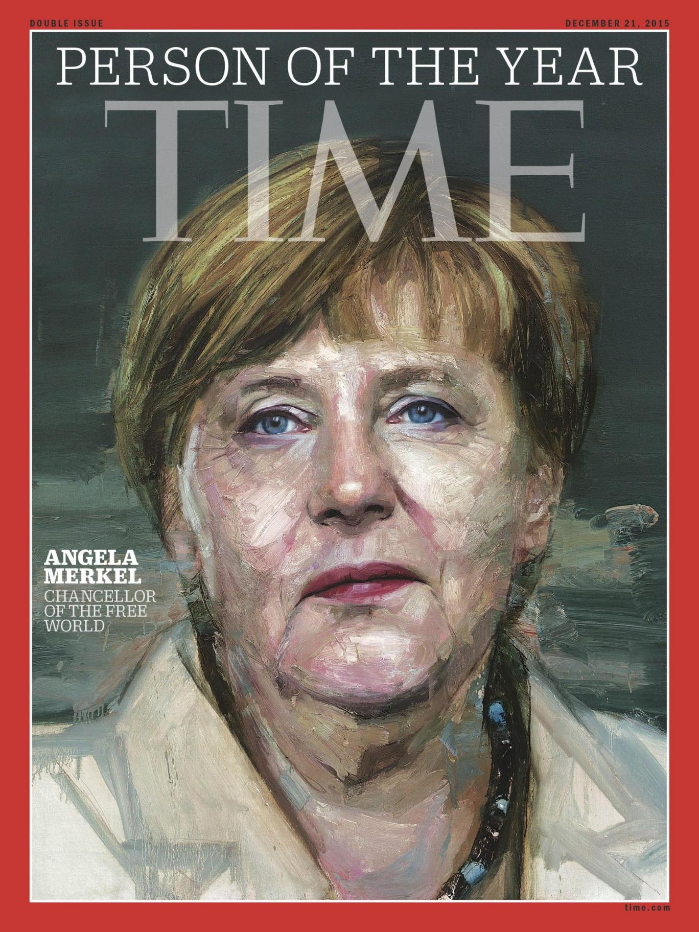 Ангела Меркель - человек года