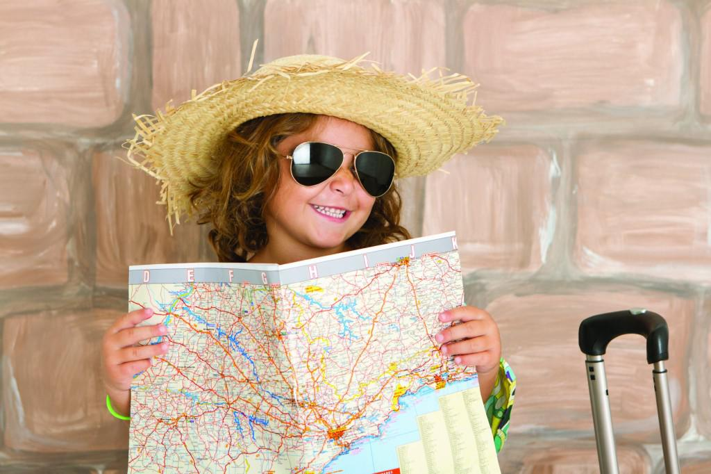 Child-and-Road-Map