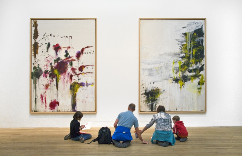 Childrens-Art-Day-Family-Activity-Tate-Gallery-London-Cy-Twombly