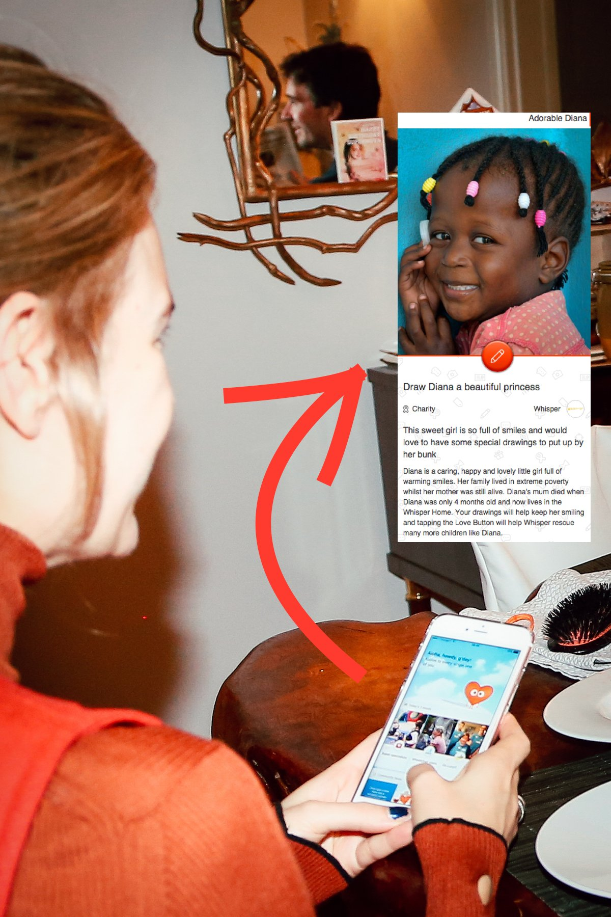 with-the-children-off-to-school-natalia-spends-some-time-on-elbi-todays-featured-project-is-to-draw-princess-pictures-for-diana-a-3-year-old-orphan-in-uganda-who-is-