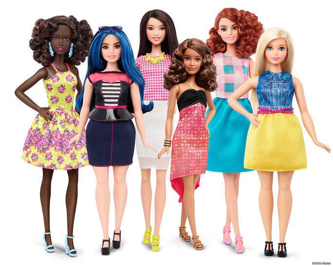 Новое тело Барби