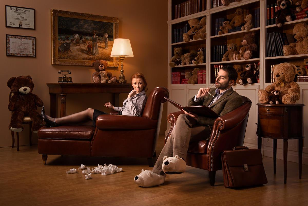 Лучше плакать у психолога, чем смеяться у психиатра