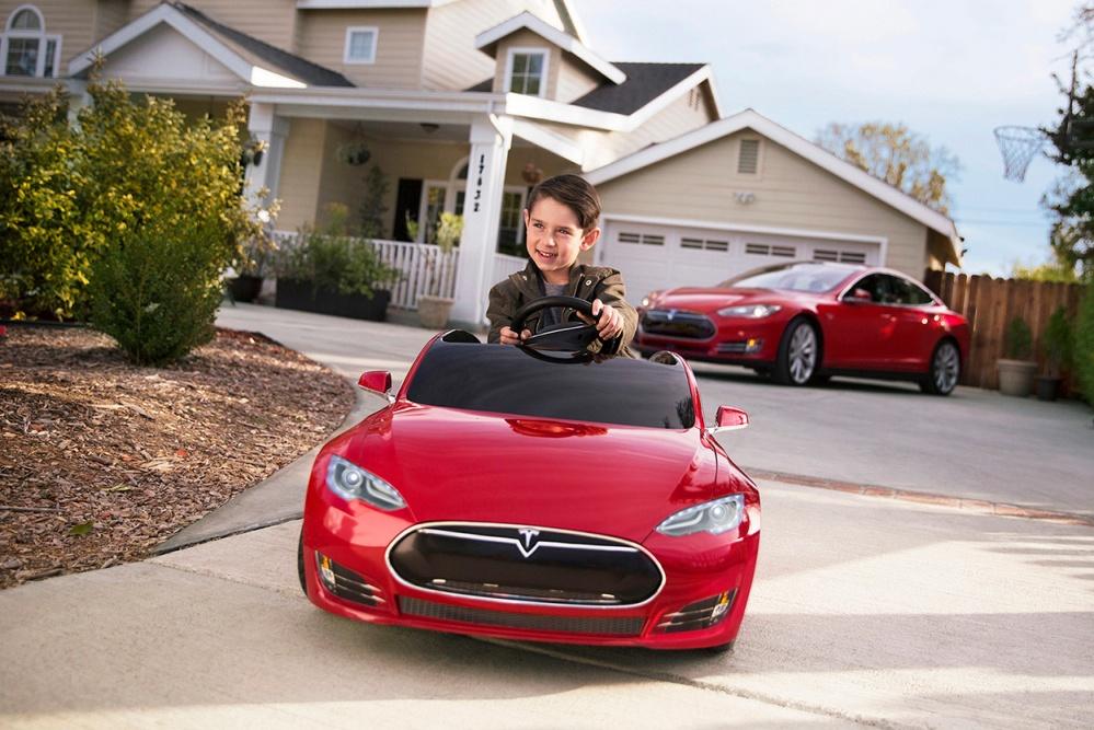 WoMo-находка: Tesla для детей