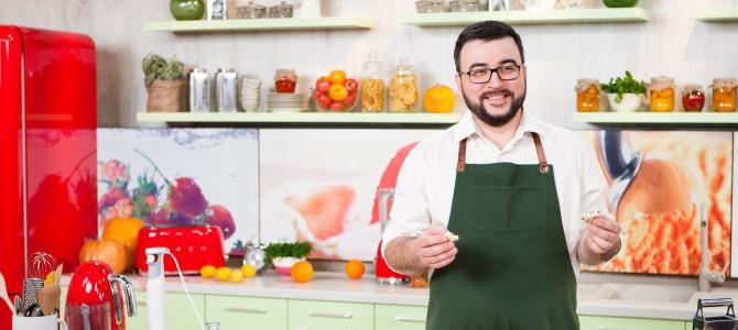 Руслан Сеничкин о профессии телеведущего/кулинара