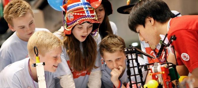 Первый Всеукраинский научный LEGO-турнир в Киеве