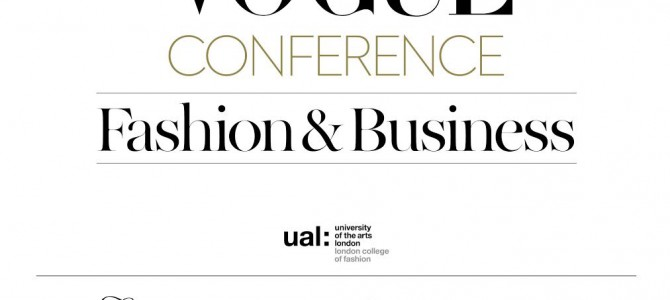 Первая Fashion & Business конференция Vogue в Украине