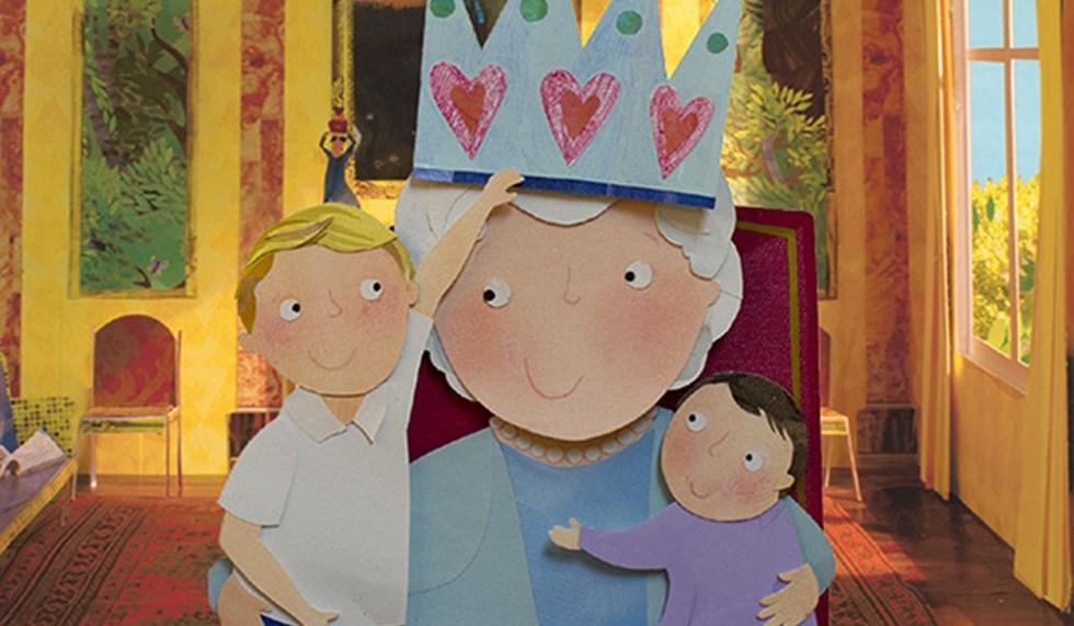 Подарок для королевы: Джордж, Шарлотта и королева Елизавета стали персонажами детской книги