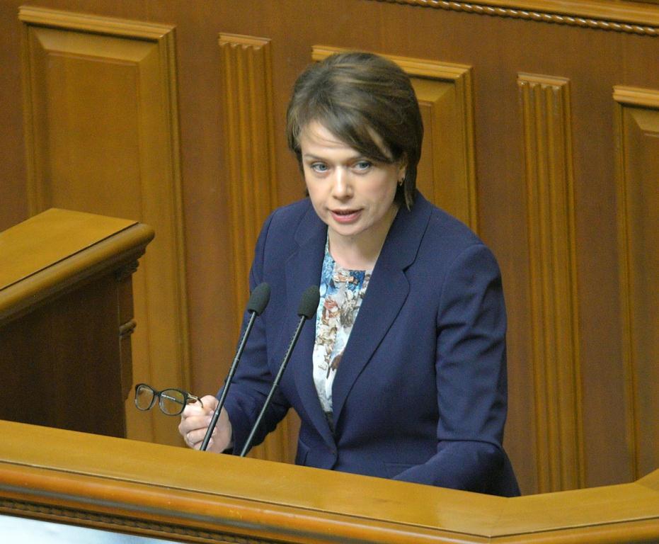 """Лилия Гриневич: """"Нашим детям нужно образование для жизни, и это главная цель новой украинской школы"""""""