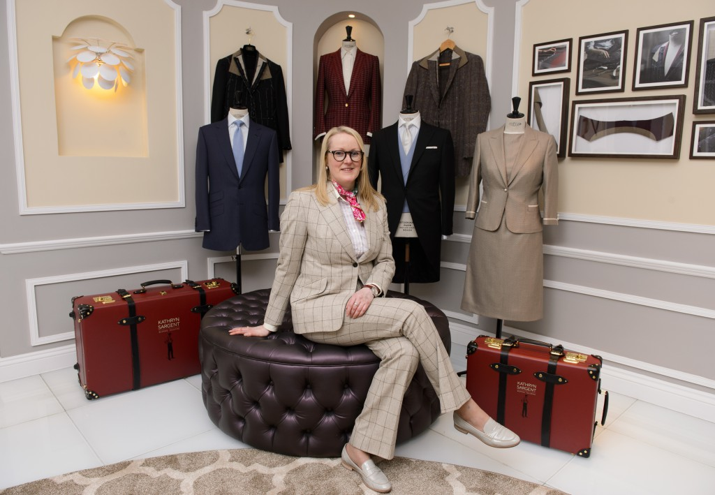 Kathryn Sargent, First Female Master Tailor Opens Shop on 37 Savile Row, London, Britain - 06 Apr 2016