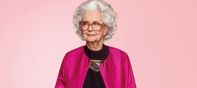 Эйджизм не пройдет: Впервые моделью журнала Vogue стала 100-летняя женщина