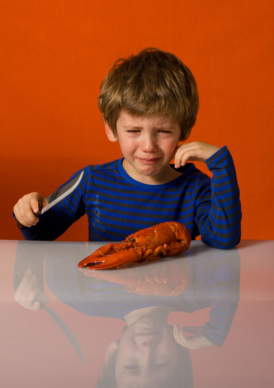 Фотопроект: Не ешь меня!