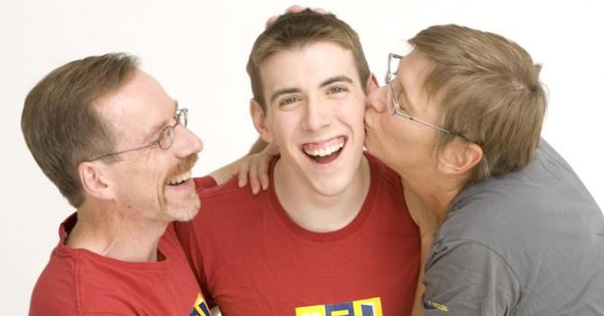 """Эд Гаффни: """"Нет никакой разницы: быть отцом сына-гея или сына-гетеросексуала"""""""