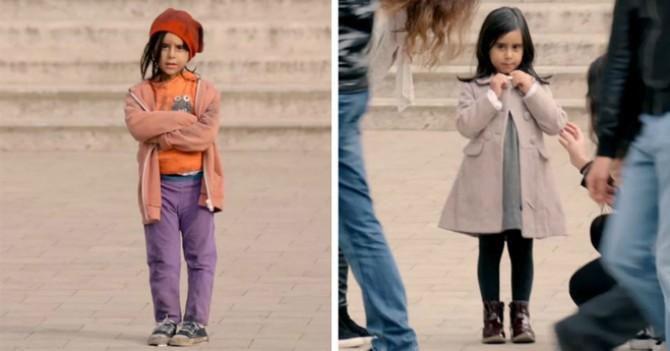 Видеоэксперимент: Как меняется отношение людей в зависимости от внешности ребенка