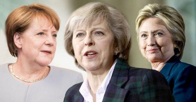 Клинтон, Мэй и Меркель могут править миром, но как это поможет лично вашей карьере?