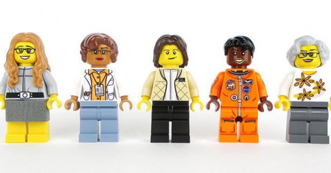 Lego создаст игрушки, посвященные женщинам из NASA