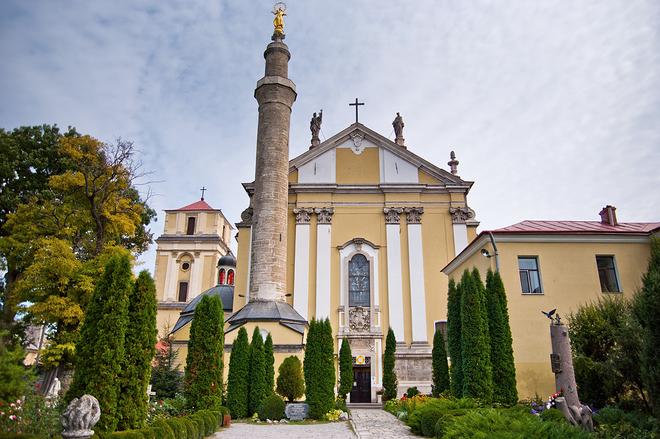 Костел Святых Петра и Павла. Каменец-Подольский