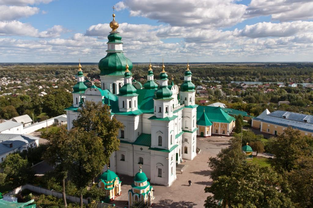 Свято-Троицкий кафедральный собор чернигов