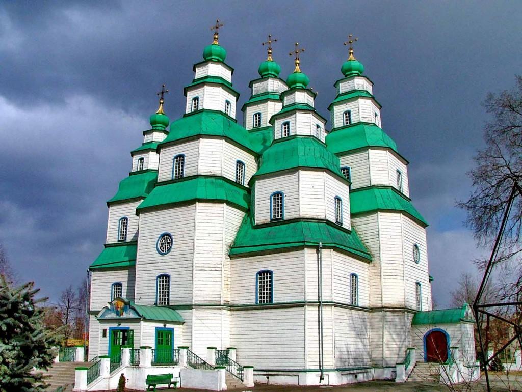 Свято-Троицкий собор. Новомосковск