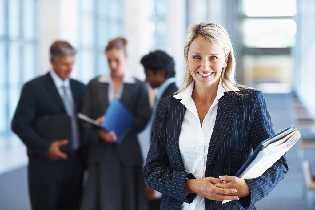 бизнес женщина гендер