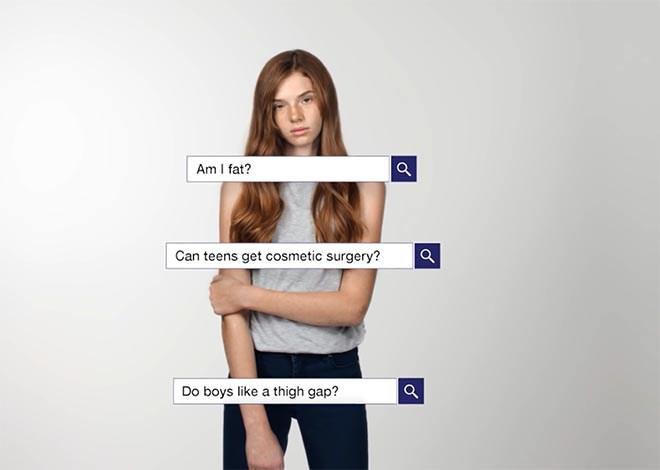 Новая социальная реклама от Dove о низкой самооценке у девочек-подростков