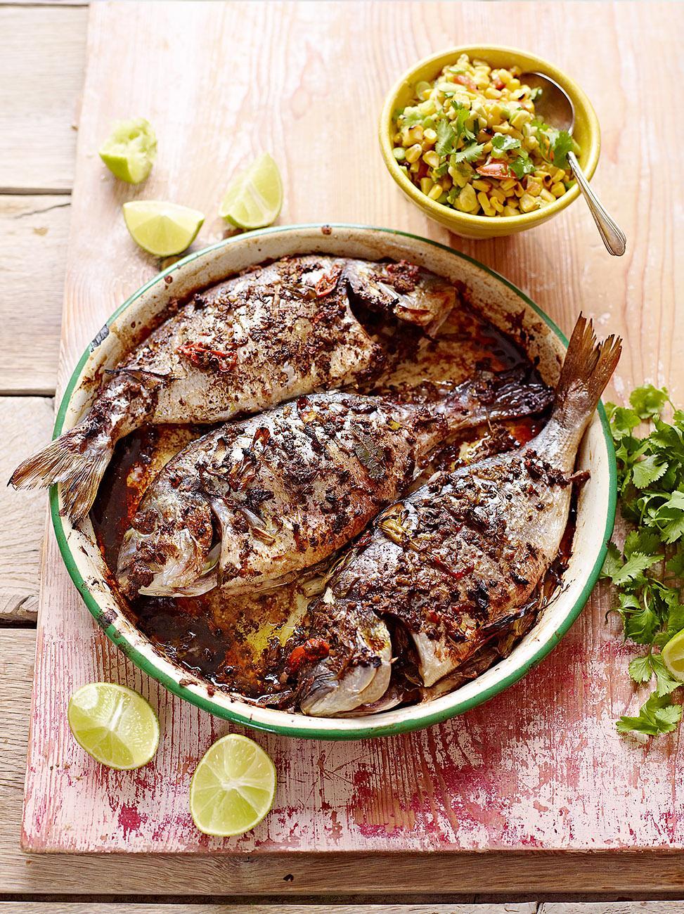 Морское меню: Рыбные блюда от Джейми Оливера